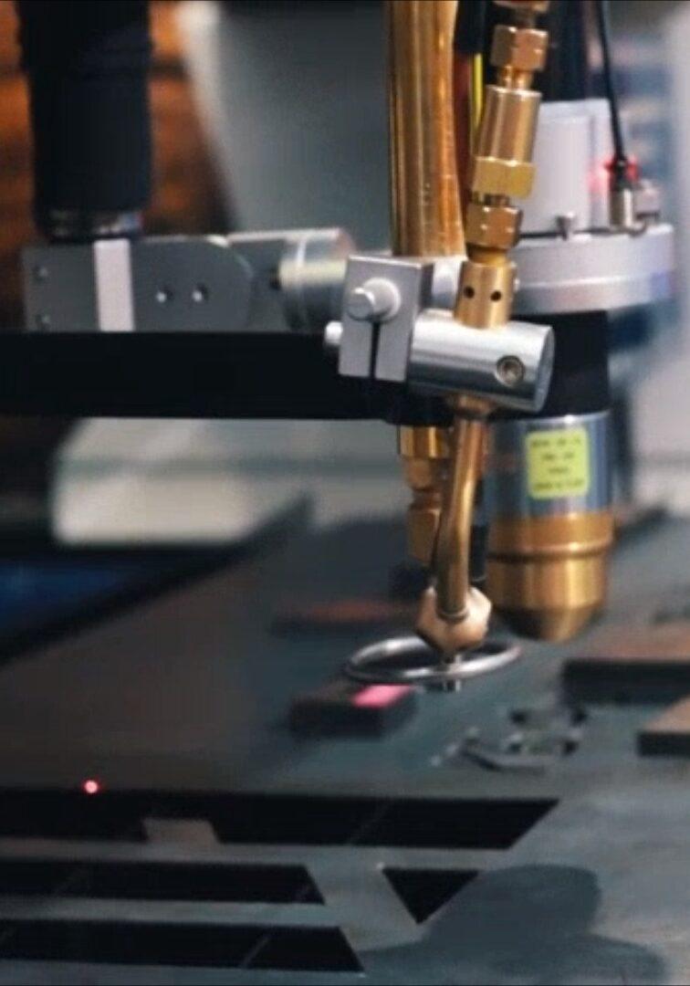 Sistema de marcado por láser industrial